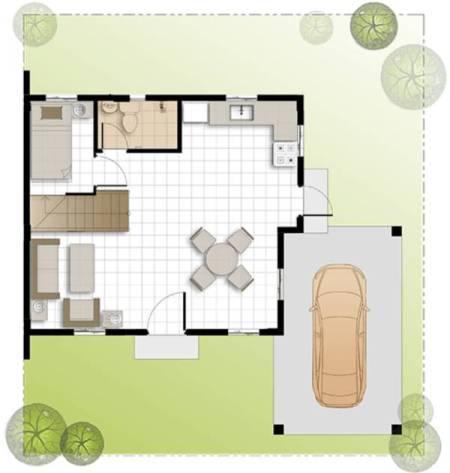 camella homes dana ground floor plan