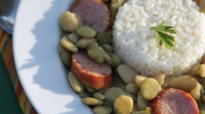 Green Baby Lima Beans and Rice :: Recipes :: Camellia Brand