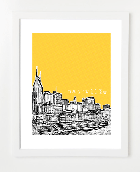 BirdAve city print