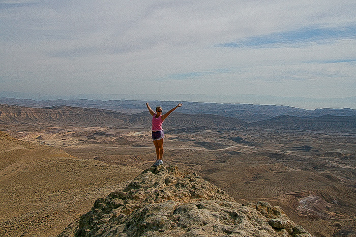 hiking in Israel