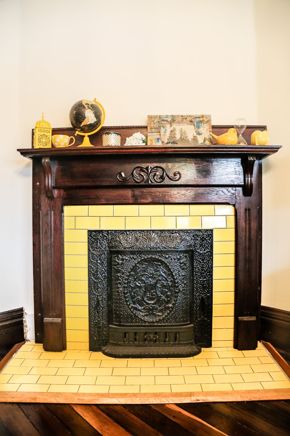 DIY Tiling Fireplaces in a Queen Anne Victorian