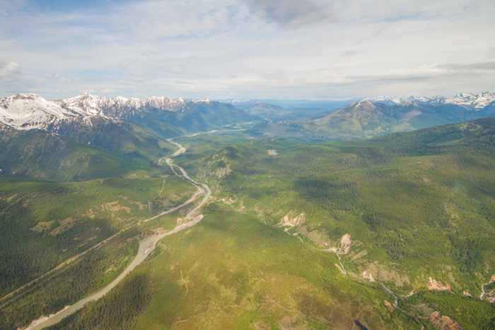 Montana's Glacier National Park by Helicopter