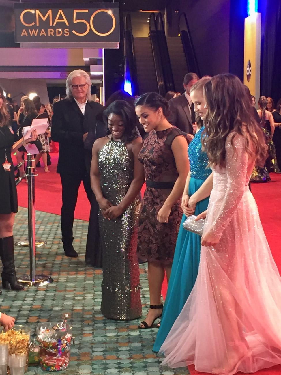 CMA Awards Red Carpet on camera hosting