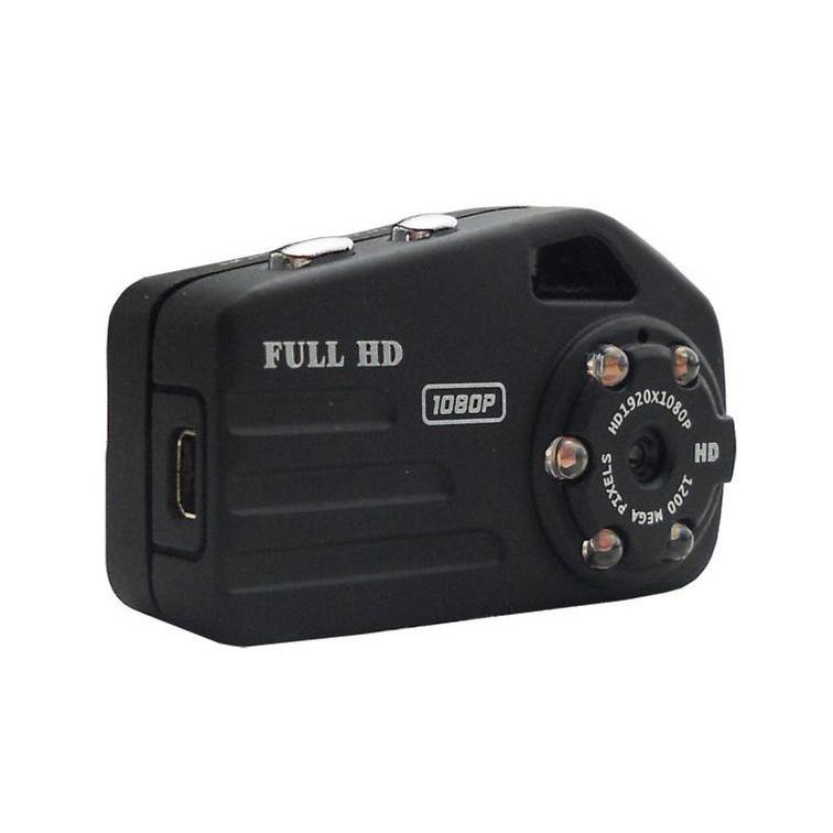 Caméra miniature noire