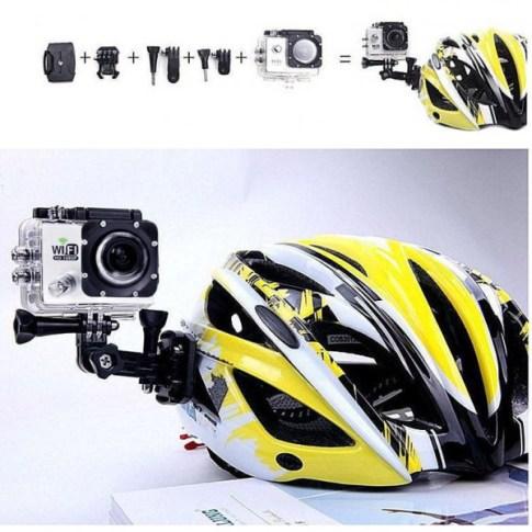 Accessoires de fixation pour casque caméra étanche