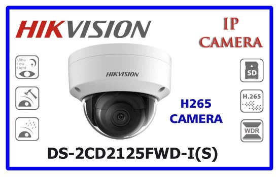 DS-2CD2125FWD-I(S) - Hikvision Network Camera