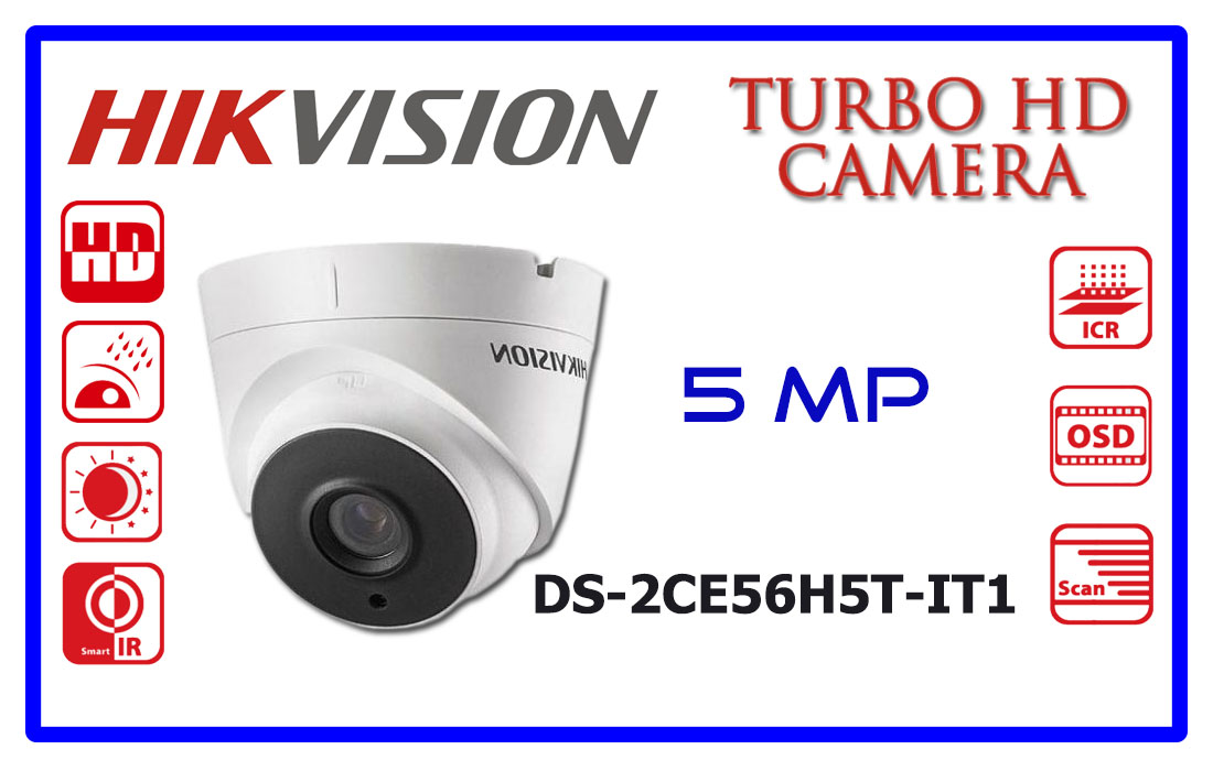 DS-2CE56H5T-IT1 HIKVISION CCTV CAMERA