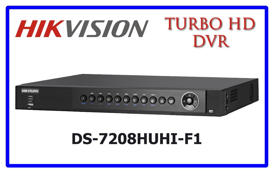 DS-7208HUHI-F1 HIKVISION CCTV DVR