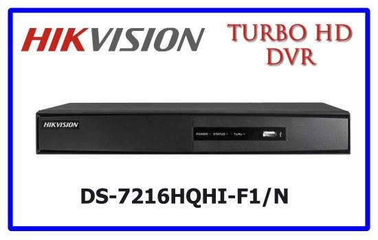 DS-7216HQHI-F1/N - Hikvision Turbo HD DVR