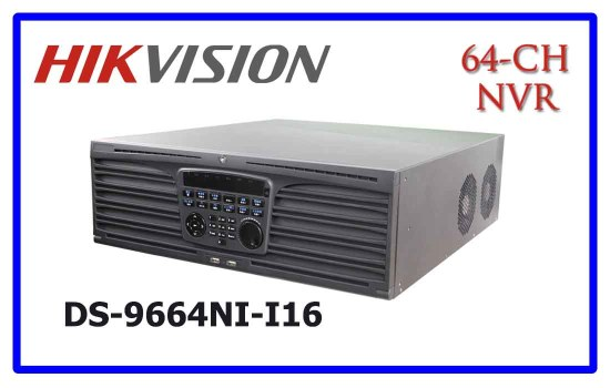 DS-9664NI-I16 - Hikvision NVR