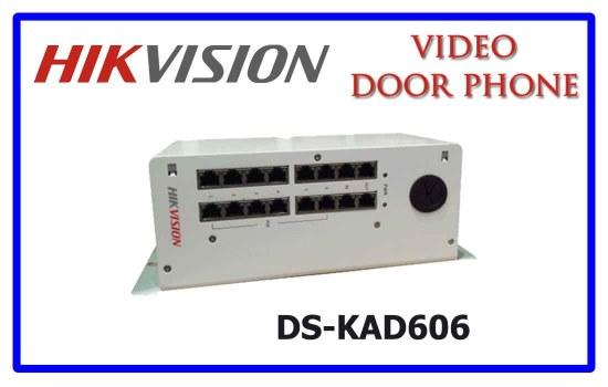 DS-KAD606 - Hikvision Video door phone accessories