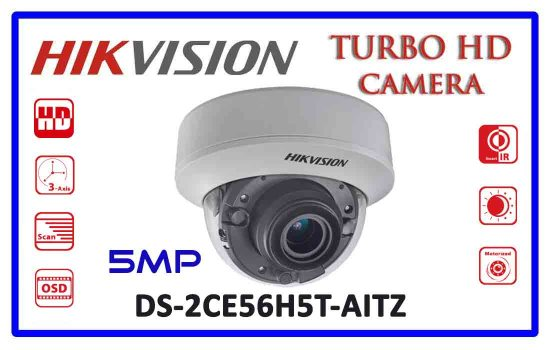 DS-2CE56H5T-AITZ - Hikvision 5mp Turbo HD Camera Advanced Digital technology Colombo