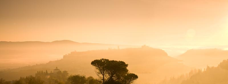 Orvieto Dawn