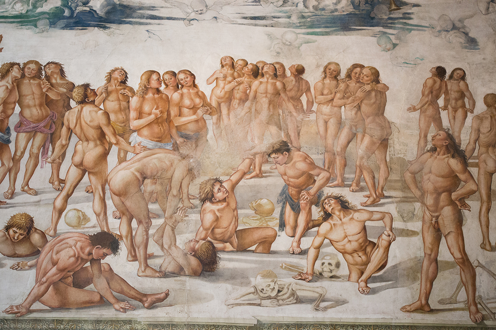 Signorelli, the resurrection of the dead