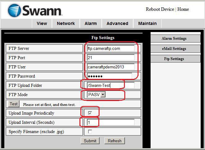 Wireless Alarm Camera