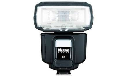 Nissin i60A claims to be the smallest, lightest high-power portable flash