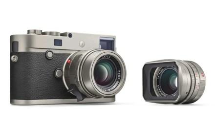 Leica unveils titanium edition of M-P (Typ 240)