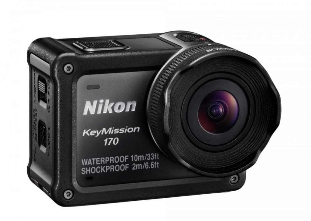 Nikon KeyMission 170 and KeyMission 80 announced