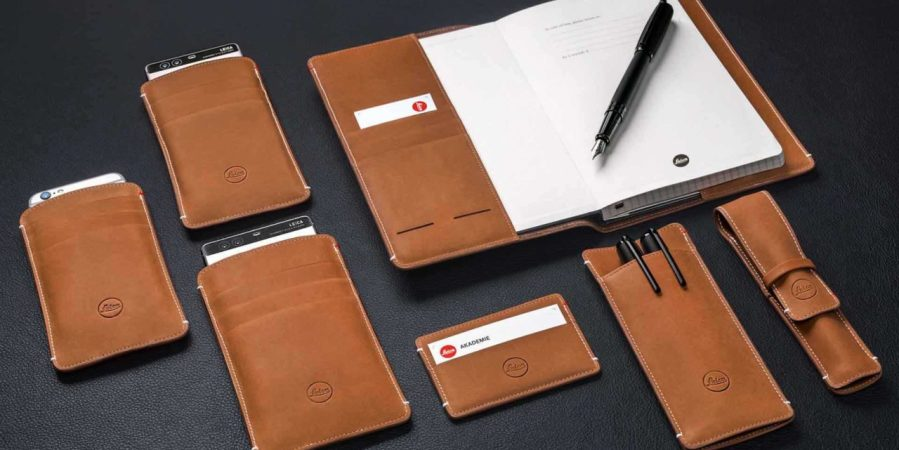 Leica launches leather accessories for iPhone, Huawei P9