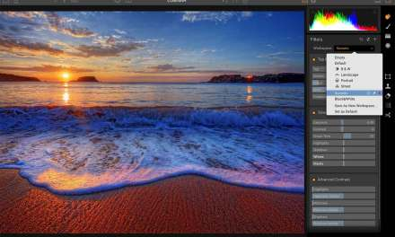 Macphun Luminar software is customisable and adapts to your skill level