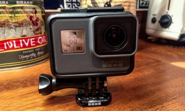 GoPro Hero5 Black product shots