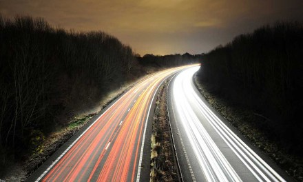 Best camera settings for photographing traffic trails