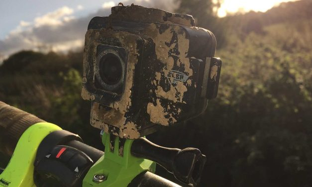 WASP 4K Action Camera – in use