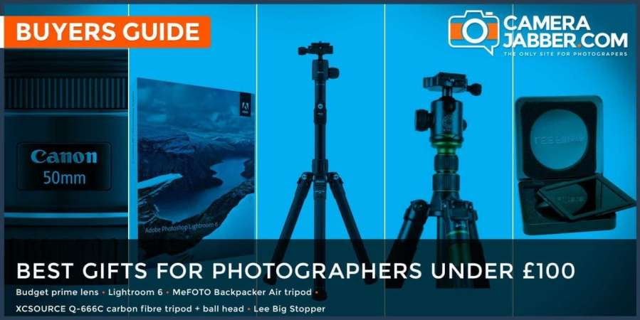 Best Christmas gifts for photographers under £100