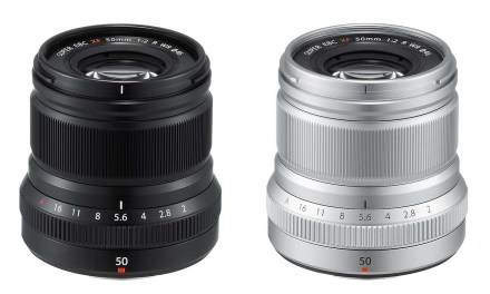 Fuji debuts XF50mm f/2 R WR telephoto lens