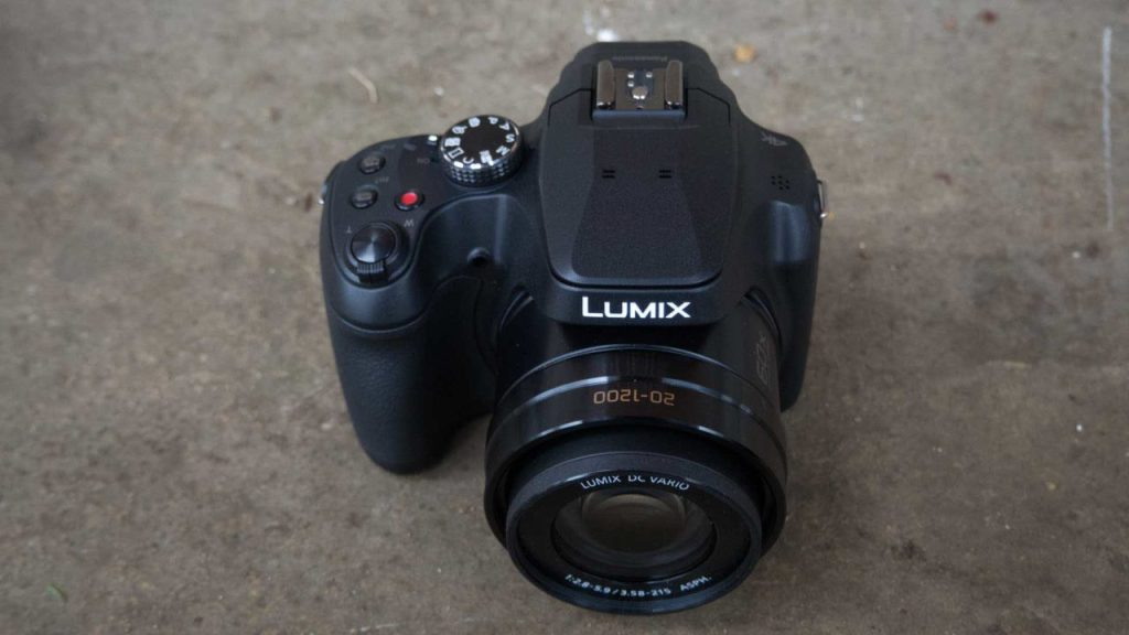 Panasonic FZ82 top