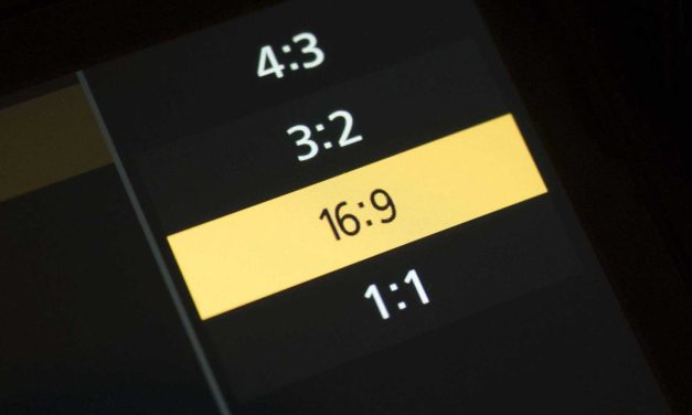 Improve composition with aspect ratio control