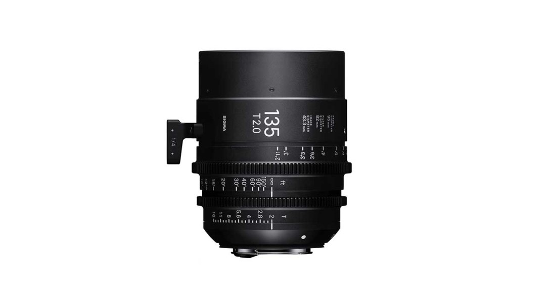 Both the Sigma 14mm T2 and 135mm T2 are available in PL, Canon EF and Sony E mounts.