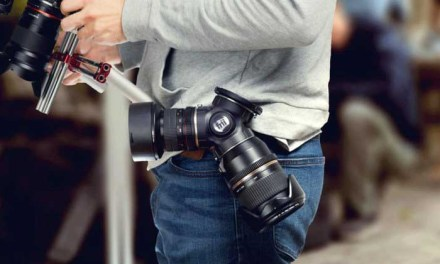 TriLens lets you hold three lenses on your belt