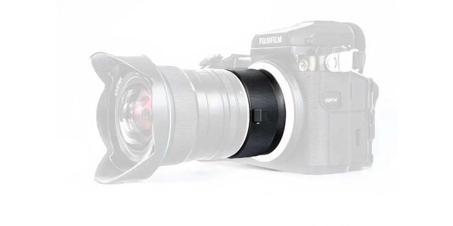 Laowa Magic Format Converter can enlarge image circle of full-frame lenses for use on Fuji GFX