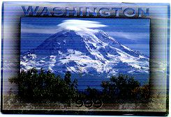 1999 calendar of images from Washington State
