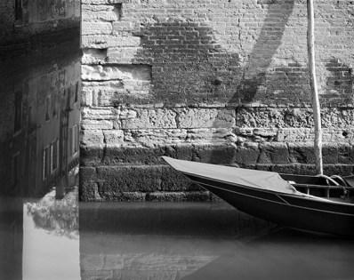 Barca, Venezia, 2003 (reflection)