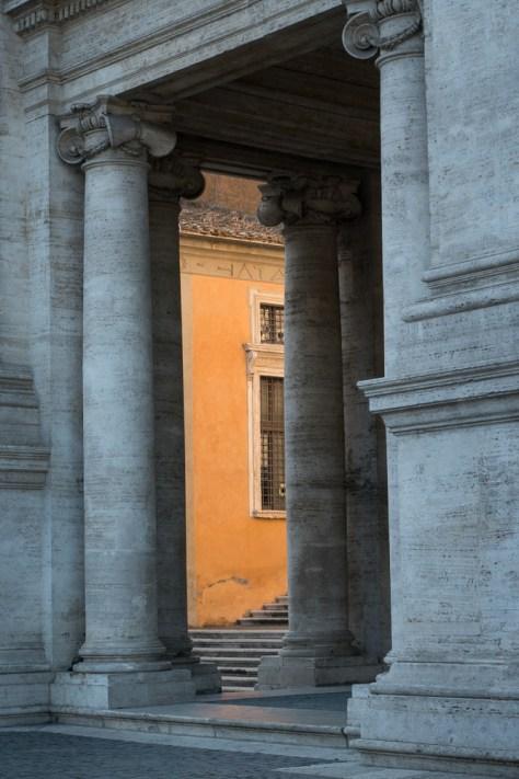 Campidoglio, Roma, 2014 - Photograph by Jeff Curto
