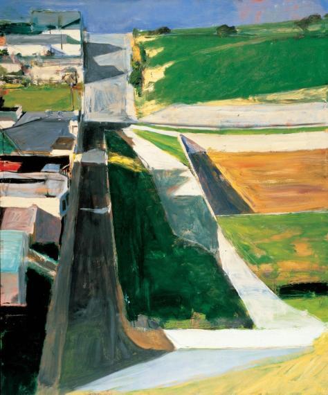 Richard Diebenkorn -Cityscape, 1963