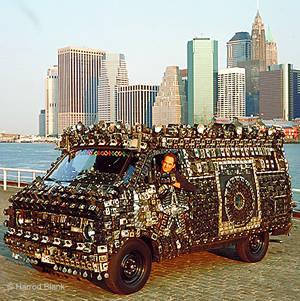 Harold Blank's Camera Van