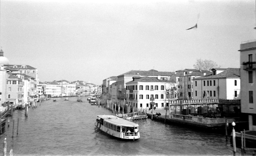 Venice, film ILFORD HP5Plus cut to 127 film format and shot with a Kodak Brownie 127