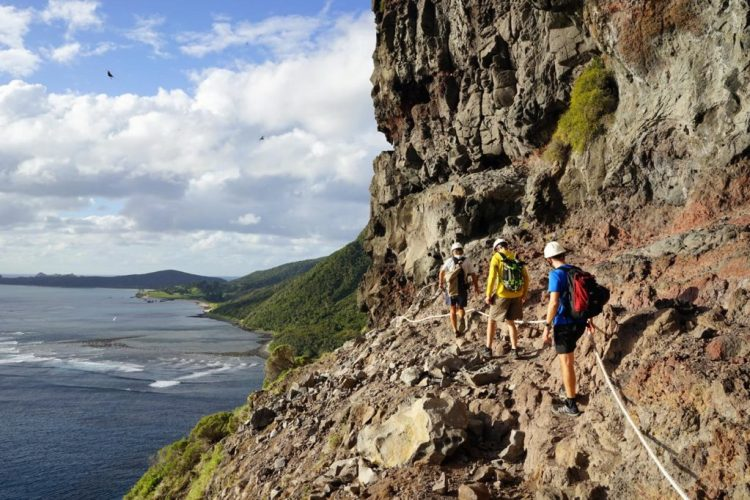 Mt Gower climb
