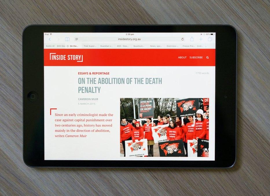 death penalty inside story