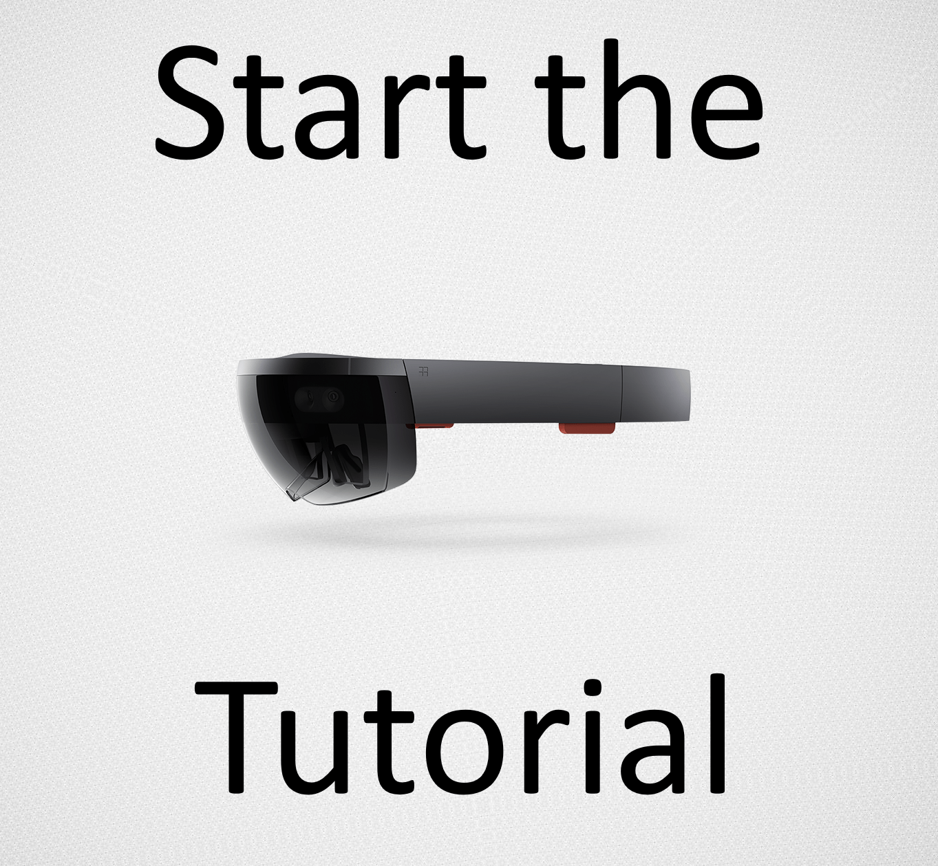 Start the Tutorial
