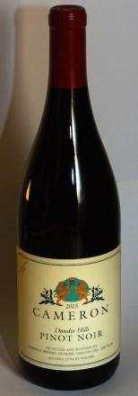 2015 Dundee Hills Pinot noir label