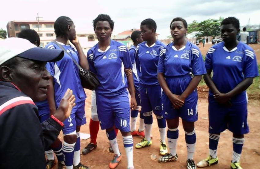 Cameroonian Girls Defy Prejudice To Pursue Soccer Dreams