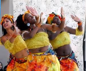 African dance group_ideal for bridal shower entertainment