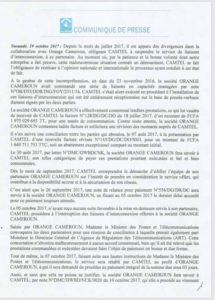 Commuiniqué-Camtel-1