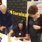 Lançamento Viva Este Livro 03/07/16 (Saraiva Shopping Pátio Paulista)