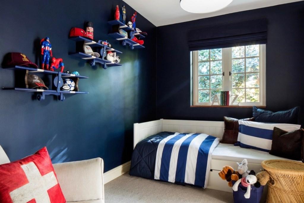 camilla bellord interiors Navy-Bedroom Portfolio