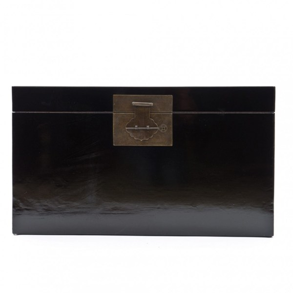 Black Lacquer Chinese Trunk